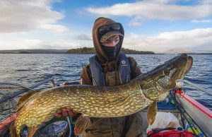 De langste vis van de dag werd gevangen door Niall Finnegan, een prachtige vis van 103 cm.