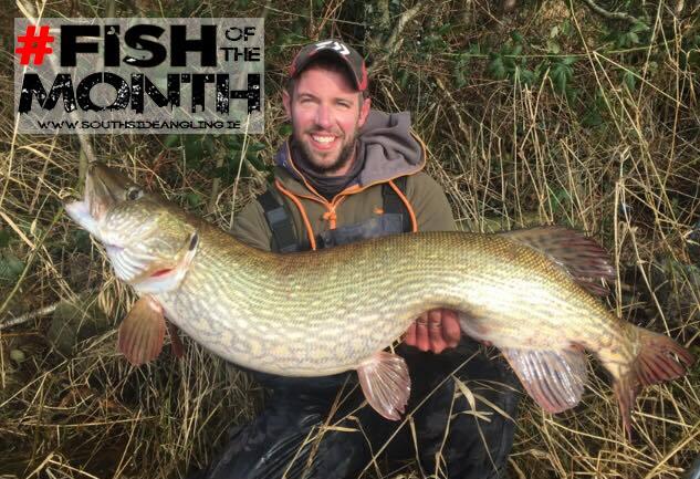 South Side Angling reikte Ronan enkele weken geleden de Vis van de Maand award uit voor deze prachtige vangst.