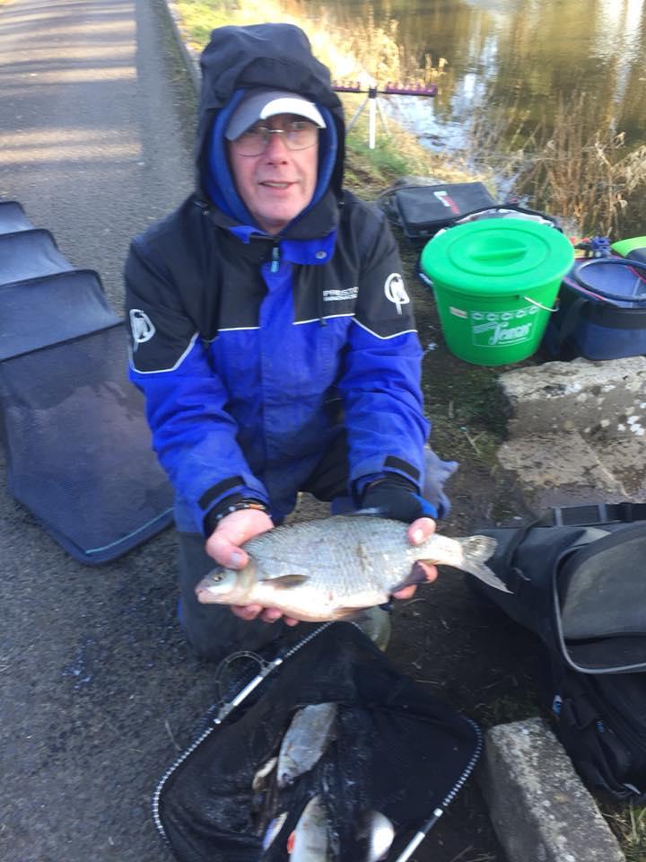 Er werden meerdere mooie vissen gevangen, de vangstgewichten reikten tot 7,150 kilogram.