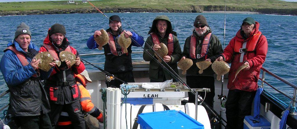 Schitterende visserij aan boord van de Leah deze week.