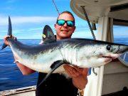 Haringhaai – Mike wint de Vangst van de Week met deze unieke hattrick. #CPRsavesfish