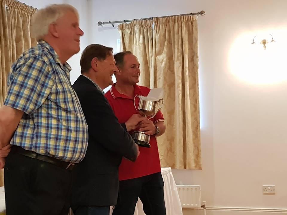 Algeheel winnaar Michael Callaghan.