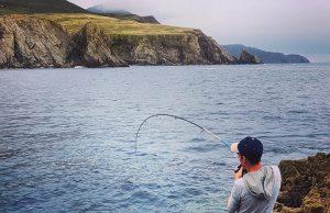 Een goed formaat vis gehaakt, pollak of lipvis?
