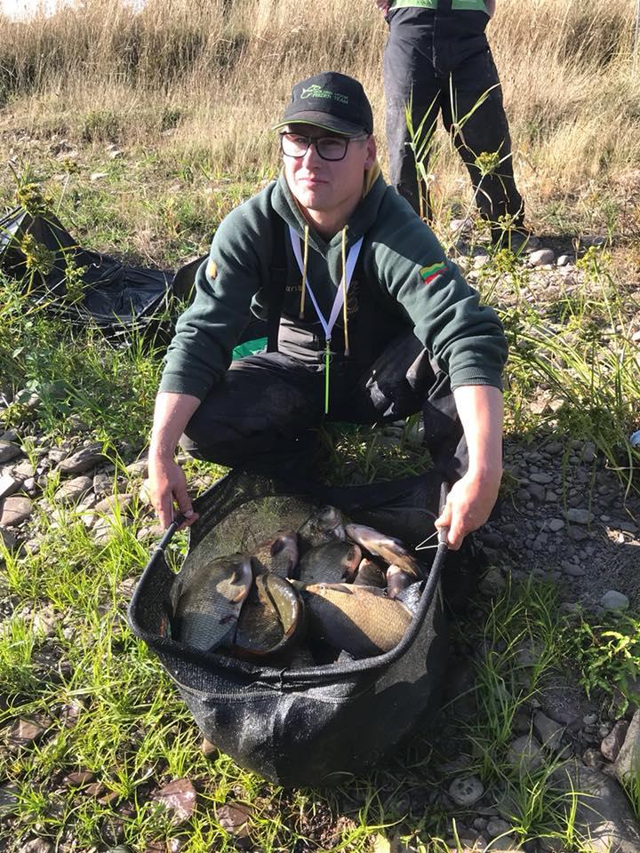 Marius Vrubliaukausas verdient de Vangst van de Week met zijn winnende vangst op Inniscarra. #CPRsavesfish