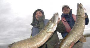 Paolo Massignani en Roberto Quaglia winnen de Vangst van de Week met deze bijzondere dubbele vangst.