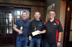 Darren Fairhurst en Brendan O'Brien waren de winnaars op Muckno op zondag.